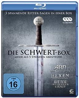 Die Schwert-Box - 3 spannende Ritter-Sagen in einer Box: ARN - Der Kreuzritter, Hexen - Die letzte Schlacht der Templer, Ritter