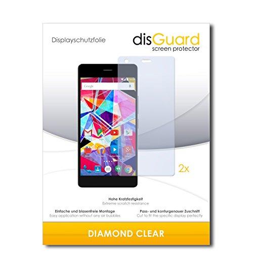 2 x disGuard® Bildschirmschutzfolie Archos Diamond S Schutzfolie Folie