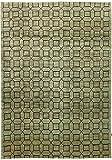 Nain Trading Design Ziegler 296x199 Orientteppich Teppich Grau/Dunkelgrün Handgeknüpft Afghanistan Design Teppich Modern