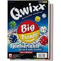 NSV - 4039 - QWIXX BIG POINTS Spielblöcke - Würfelspiel