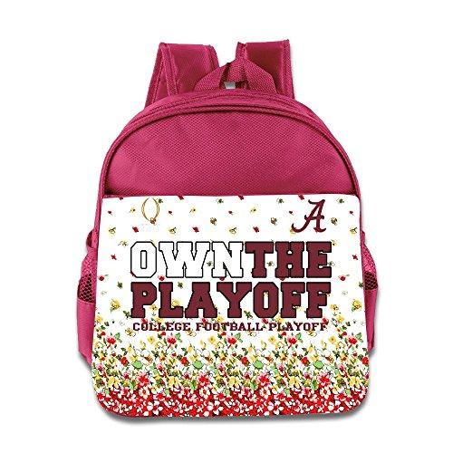 Alabama Crimson Tide 2016College Football Play-Offs Bound Own the Playoff Kinder Schule Rucksack Tasche, rose, Einheitsgröße