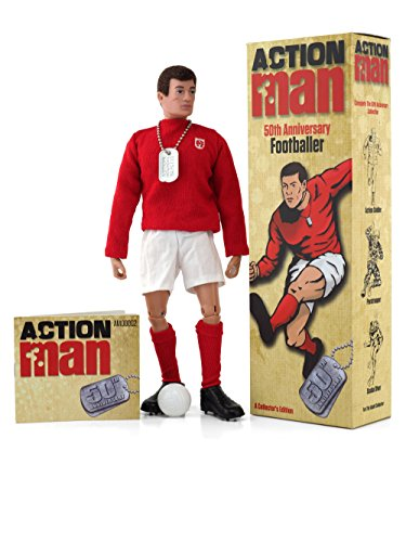 "Image of Action Man AM713 ""50th Anniversary Footballer"" Figure"
