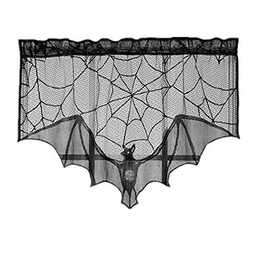 Prima05Sally Halloween Cobweb Kamin Schal Lace Curtain Spider Webs Kamin Tuch