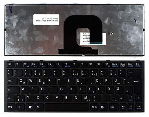 Nerd Herd Sony Vaio VPCYB Grey Frame Black German Grau Brillen Schwarz Deutsch kompatible Ersatz Tastatur