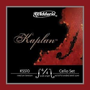 D'Addario KS510-4/4H Kaplan Set de cordes pour Violoncelle  4/4 Heavy