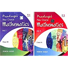 Pradeep's New Course Mathematics For CBSE Class 12th (Set Of Two Volumes)