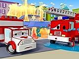 Frank das Feuerwehrauto | Billy die Planierraupe