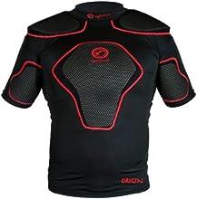 Optimum Origin - Camiseta deportiva con acolchado en hombros para hombre