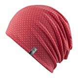 Chillouts Mütze Florence Coral Pink/White