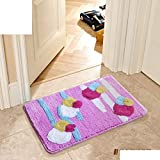 DHG Mats-Kitchen Badezimmer Wc-Fußmatte/Fußmatte / Tür in die Flurtür Matten/Nonlip Mats,N,50X80Cm (20X31Inch)
