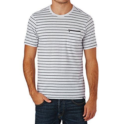 "Herren T-Shirt ""Dri Fit Edwards Crew"" Weiss"