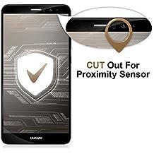 Ubegood Huawei mate 9 Protector de Pantalla, Mate 9 Vidrio Templado Tempered glass Protector de Pantalla Templado [3D Full Coverage]Screen Protector para Huawei mate 9 - 2 Pack (negro)