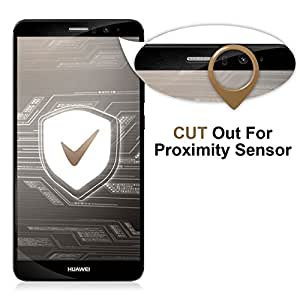 Ubegood Huawei mate 9 Pellicola Protettiva, Mate 9 Vetro temperato 3D full coverage [2-Pack] Huawei mate 9 Screen Protector in Vetro Temperato per Huawei mate 9 (Nero)
