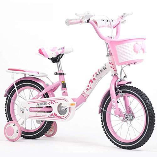 Xiaotian Prinzessin Fahrrad Mädchen Kick Dreirad Outdoor Kinder Fahrrad Sport Bike Boy Outdoor Sport Bike 2~12 Jahre alt,B,16inch