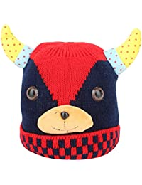 3525a62218a Shop Frenzy Kids Woolen Winter Soft caps for Baby boy Baby Girl Fancy Party wear  Beanie Monkey Ear earner…