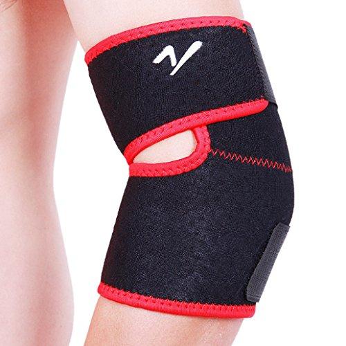 DEHANG - Coudière de maintien / Protection de Coude Bras Elastique Antichoc Bandage Pour Sport Gym(YZ-A02)