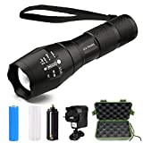 Best Bicycle Lights 5000 Lumens Rechargeables - LED Torch, Six Foxes Super Bright 2000 Lumen Review