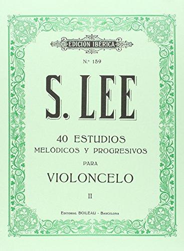 40 Estudios melódicos y progresivos para violoncelo: Op. 31, vol. II
