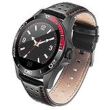 KXIN Fitness-Tracker, Intelligente Uhr Mit Farbbildschirm Puls Blutdruckerkennung GPS, IP67 Wasserdicht Multifunktions-Sport-Armband