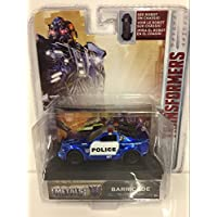 "Police Car [Jada 98389], Barricade, ""Transformers: The Last Knight"", environ 1:64 Die Cast"