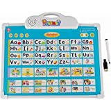 FunBlast Musical Learning Board, Battery Operated Musical Alphabet Toy With Drawing Board , Educational Learning Board