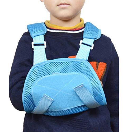 AOPAMOX Armschlinge für Schulteroperationen zur Behandlung von Ellenbogenfrakturen bei Kindern mit Einer Verletzung des linken oder rechten Handgelenks,S - Sport-verletzung Behandlung