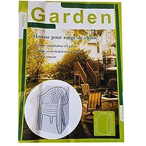 Lissek Schutzhülle für Stuhl Hülle Abdeckung Haube dunkelgrün 68x61x120cm