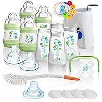 Baby Mam All-in-one Vorteilspack Starterset 23 Tlg Anti-colic Flaschen Milchpumpe Neu Feeding