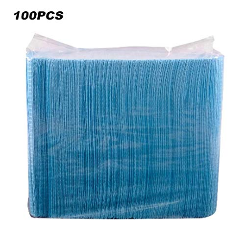 100 stücke Einweg Tattoo Clean Pad Tuch Wasserdichte Medizinische Hygiene Persönliche Papier Tischdecken Matte Blätter Tattoo Zubehör