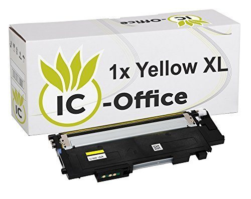 IC-Office 1x XL Toner Yellow Gelb kompatibel für Samsung CLT-Y404S-ELS CLT-404S CLT-404 CLT-P404C für Xpress C430 Series C430W C480 Series C480FN C480FW C480W -