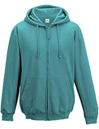 Hawaiian Blue Unisex Zip Up hoodie PLUS 1 T SHIRT with Hoodie zip up jacket