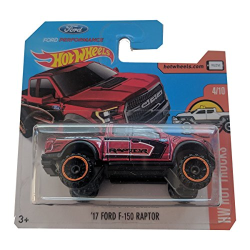 Befriki Hot Wheels '17 Ford F-150 Raptor rojo