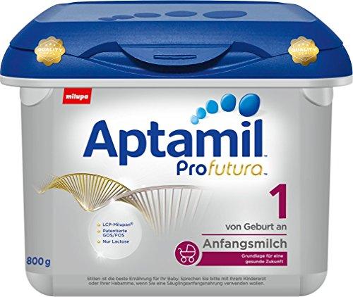 Aptamil Profutura 1 Anfangsmilch von Geburt an, 4er Pack (4 x 800 g) Safebox