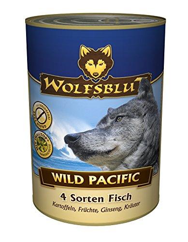 WILD PACIFIC Nassfutter - Hundefutter mit vier Sorten frischen Fisch