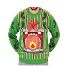LED Kamin Christmas Sweater