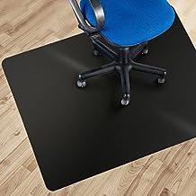 etm policarbonato negro silla de oficina estera - suelos duros - protección ninguìn-reciclaje Material - fuerza de alto impacto