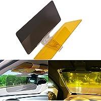 negro WINOMO visera del coche parabrisas extensor anti-glare sol rayos UV bloque Visor Extensor para coche cami/ón
