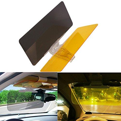 FEZZ Auto Sonnenschutz Sichtschutz Sonnenblende Frontscheibe Blendschutz für Tag und Nachtfahrten