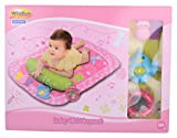 Winfun Baby Girl Playmat, Multi Color