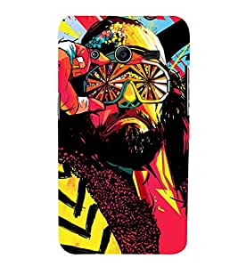 Takkloo colourful pic Man wearing goggle,beared man, man with mushtache) Printed Designer Back Case Cover for Samsung Galaxy Core 2 G355H :: Samsung Galaxy Core Ii :: Samsung Galaxy Core 2 Dual