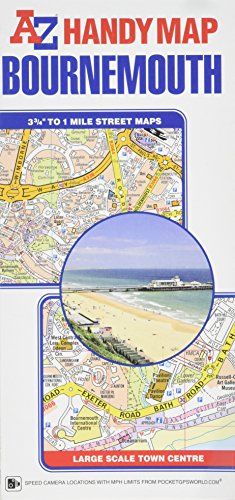 Handy Map of Bournemouth por Geographers A-Z Map Company Ltd