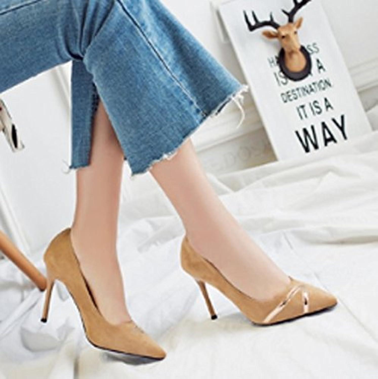 AJUNR Sandali da Donna alla Moda Moda Moda Testa affilato Bene Il Tallone Unico di Scarpe Sexy Bocca Poco Profonde Scarpe... | La prima serie di specifiche complete per i clienti  | Sig/Sig Ra Scarpa  3c4df1