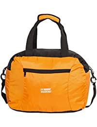 3062292dc3 Devagabond Polyester 48 cms Orange Travel Duffle (Minicruch 1 Orange Black)