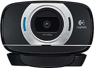 Logitech 960-001056 C615 Webcam, Videochiamate HD 720p, Registrazione Video Full HD a 1080p, Nero/Antracite