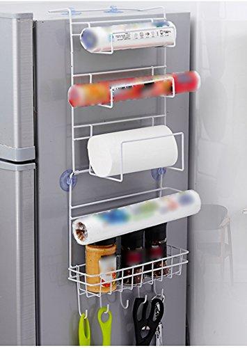 Küche Kühlschrank Regal Rack Brunnen Anhänger Seite Anhänger Anhänger Hängeregal (größe : 24 * 9 * 62cm)