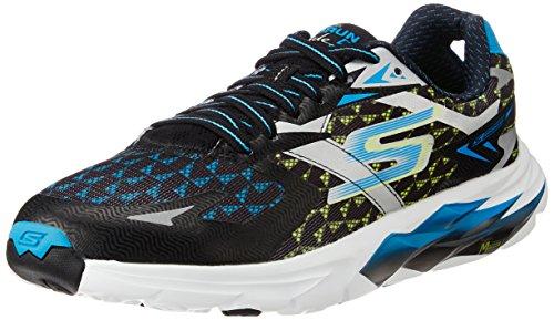 Skechers Go Run Ride 5 - Zapatillas de Deporte para Hombre, color Negro/Azul (Bkbl), talla 43