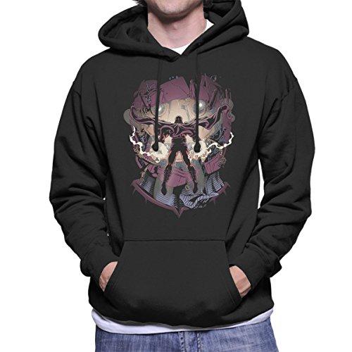 X Men Magneto Magnetic Confrontation Men's Hooded Sweatshirt