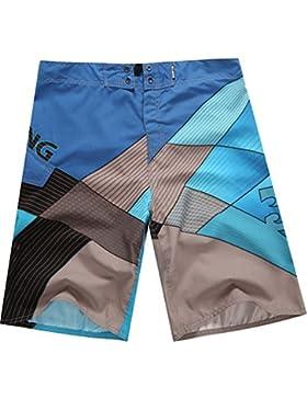 Baymate Impresión Bañador De Natación Multicolor Pantalones Cortos Para Hombre