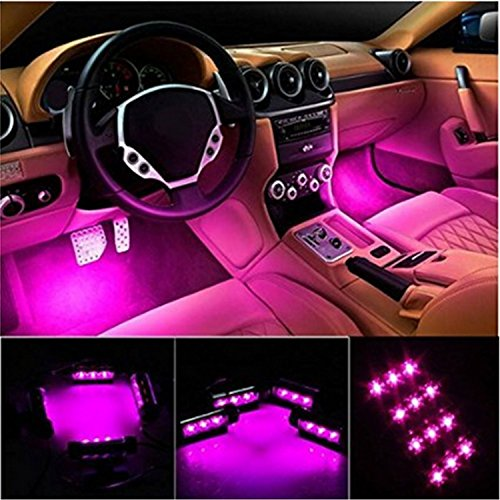 Interior Car Lights 4pcs Car Int...