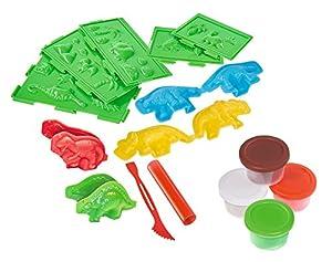 Simba - Arte y Diversión Dino Knetset, Multicolor (106326655)
